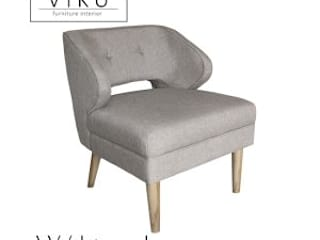 viku Dining roomChairs & benches Textile Grey