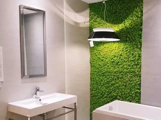 Łazienki: styl , w kategorii  zaprojektowany przez JUKO Green Design