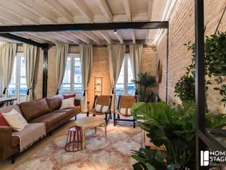 Un AIRB&B con encanto: Proyecto de estilismo y decoración en un piso de Bilbao.:  de estilo  de Home Staging Bizkaia