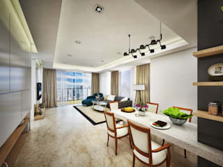 : Salas de estilo  por Jasa Arsitek Karawang,