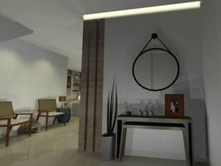 Hall de entrada: Corredores e halls de entrada  por Onix Designers