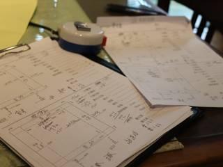 事前測量及記錄:   by 鵝牌氣密窗-台中直營店