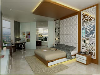 BEDROOM 01 ALT2:   by Arsitekpedia