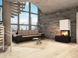 CB stone-tec GmbH LivingsChimeneas y accesorios