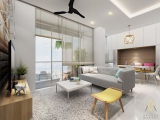 The Gianetti Apartment, Jakarta Oleh The Ground Market