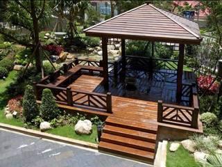 Jardines asiáticos de 茂林樓梯扶手地板工程團隊 Asiático