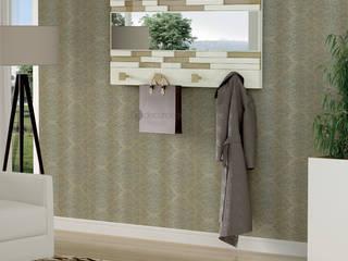Decordesign Interiores Corridor, hallway & stairsClothes hooks & stands Beige