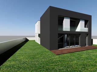 Fase - Projecto: Casas unifamilares  por Atelier 72 - Arquitetura, Lda