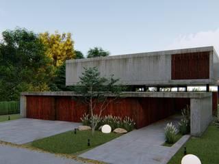 Arq Olivares モダンな 家 コンクリート