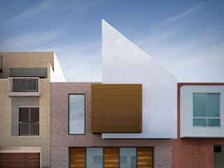 Casa Santa Anita: Casas unifamiliares de estilo  por Punto De Fuga Arquitectura