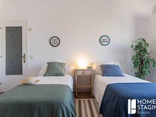 Home Staging en un dormitorio Juvenil después:  de estilo  de Home Staging Bizkaia
