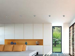 Casa Santander: Salas de estilo  por Punto De Fuga Arquitectura