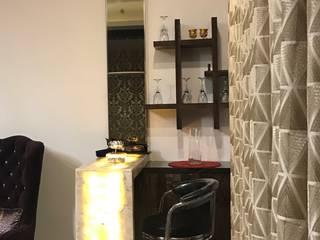 Residential Flat @ ATS ADVANTAGE INDIRAPURAM :  Dining room by Design Radical