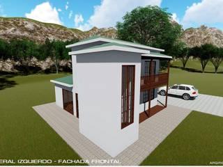 asa Unifamiliar San nicolas, Sopetran - Antioquia:  de estilo  por RR Arquitecto
