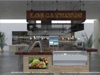 Local Comercial Comida Mexicana, Poblado - Antioquia:  de estilo  por RR Arquitecto