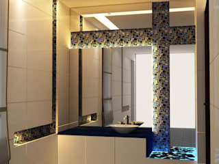 VILLA @ NOIDA Modern bathroom by Design Radical Modern