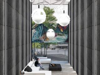 CONCRESO DEL ESTADO MORELOS Centros de convenciones de estilo moderno de Paradoja Architecture Studio Moderno