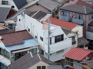 アトリエ スピノザ Moderne Häuser Weiß