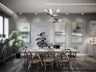 Комната отдыха: Гостиная в . Автор – Дизайн-студия baxx pro