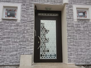 Bina Giriş Kapısı Ayteksa L.t.d Endüstriyel