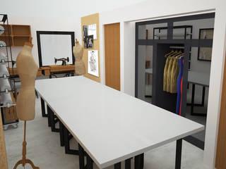 Estudios y biblioteca de estilo  por UOTAN Studio, Moderno