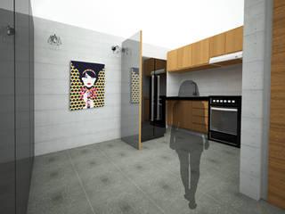 Muebles de cocinas de estilo  por UOTAN Studio, Moderno