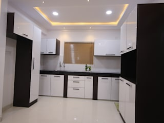 Begonia Homes | 2BHK | Semi Furnished Home by Enrich Interiors & Decors Asian
