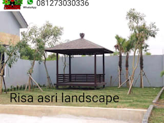 Jasa tukang taman surabaya Ruang Komersial Minimalis Oleh Risa Asri Landscape Minimalis