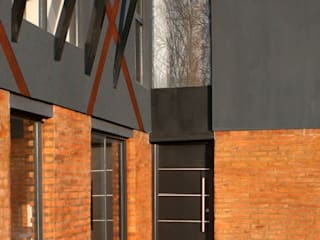 Condominio Los Pinos / Fisherton / Rosario Casas rústicas de Metamorfosis arquitectura y diseño Rústico