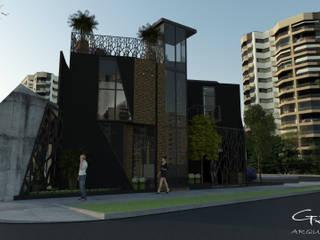Pabellon del Agua Casas modernas de GT-R Arquitectos Moderno