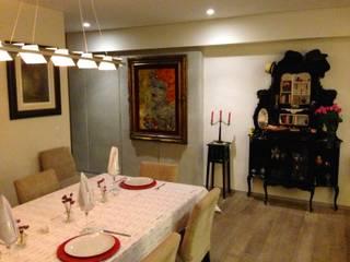 Dining room by Bienes Raices Gaia, Modern
