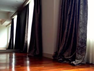 Departamento estilo Colonial Californiano en Newton en Polanco: Salas de estilo  por Bienes Raices Gaia
