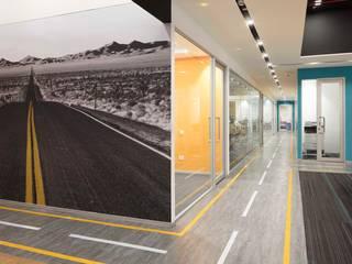 Apex Project Solutions Pvt. Ltd. Ruang Komersial Modern Beton Multicolored
