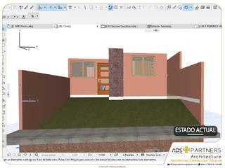 Casa Fracc. Los Encinos | Proyecto Habitacional; vivienda social:  de estilo  por ADS + Partners | Architecture