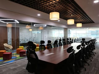 Apex Project Solutions Pvt. Ltd. Commercial Spaces Plywood Wood effect
