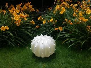 Echinocactus modello per esterni, finitura perlata:  in stile  di SeFa Design by nature