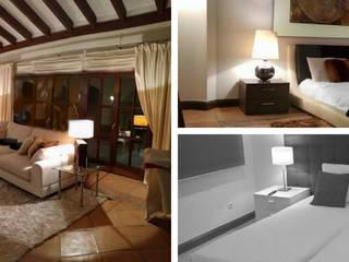 Diseño Interior VILLA EN LA ZAGALETA. MARBELLA: Salones de estilo  de Vittello - Sofás de Diseño