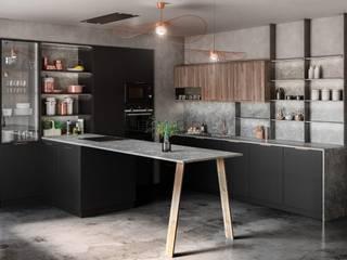 od TPC Instalación de cocinas en Parets del Vallès Nowoczesny