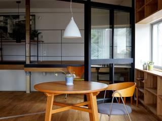 Modern Dining Room by 有限会社建築計画 Modern