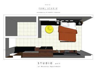 Denah Ruangan Beverly :   by POWL Studio