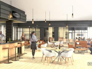 Perspectives 3D intérieure - création d'espace de Co-living par Bureau des Perspectives 3D