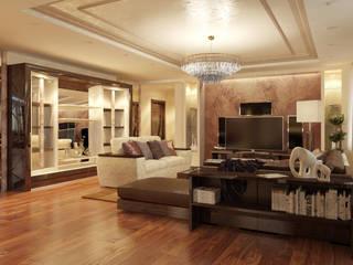 Квартира в Куркино: Гостиная в . Автор – Студия интерьера Светланы Дубровской