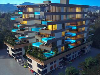 CRUISE Modern Evler Derat Mimarlık - Tasarım / Archıtects & Interıor Modern