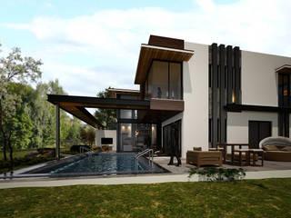 CANTAY VİLLA Modern Evler Derat Mimarlık - Tasarım / Archıtects & Interıor Modern