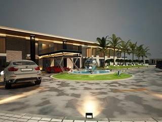 AKACAN VİLLA Modern Evler Derat Mimarlık - Tasarım / Archıtects & Interıor Modern