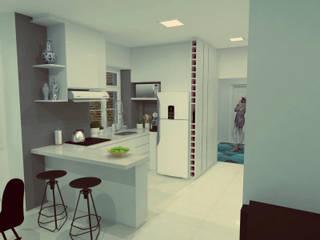 M/-/F-я]V[: Armários e bancadas de cozinha  por HPaleari ,Moderno