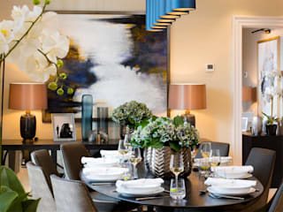 Dining room by Design by UBER