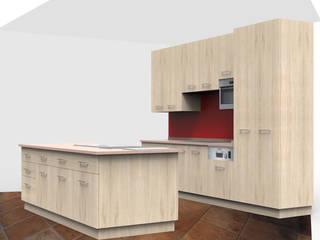 Cucina in sostituzione a cucina già esistente:  in stile  di Studio Forma