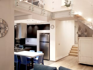 msplus architettura Вітальня Плитки Білий