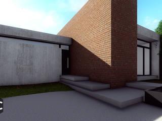 Casa 443: Casas de estilo  por Arquitectos CGC,Moderno